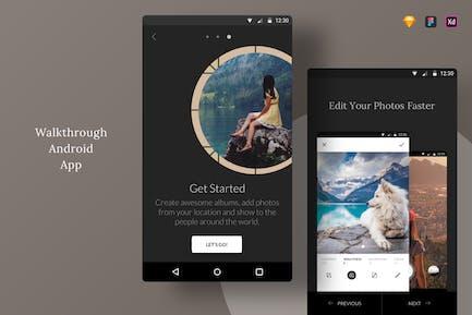 Walkthrough Android App