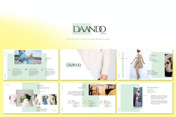 Thumbnail for Daando - Creative Fashion Powerpoint