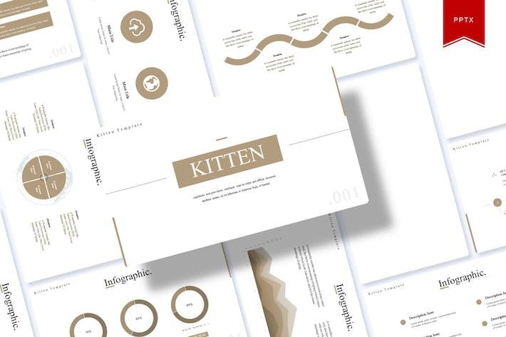 Kitten | Powerpoint Template