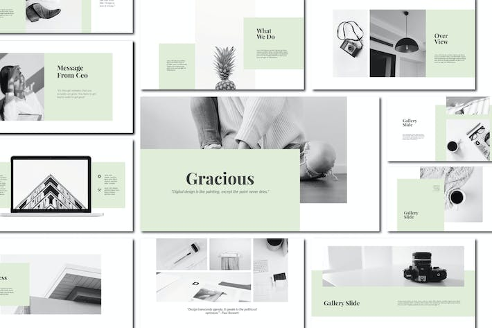 Cover Image For Gracious - Keynote Template