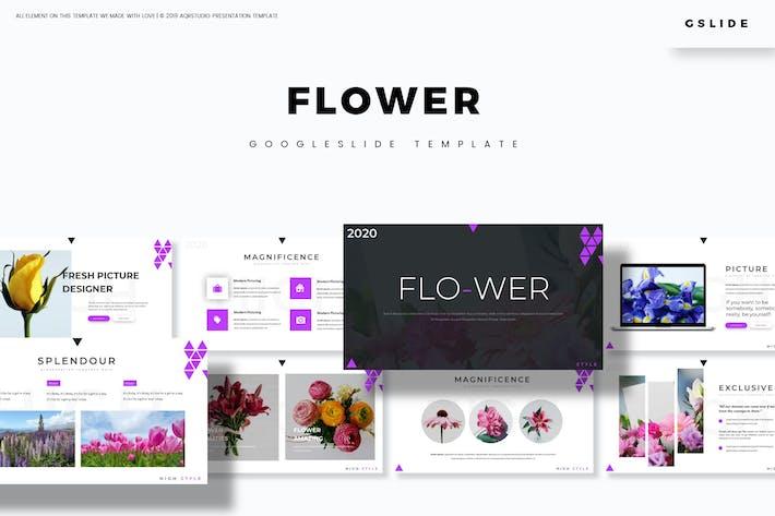 Thumbnail for Flower - Google Slides Template