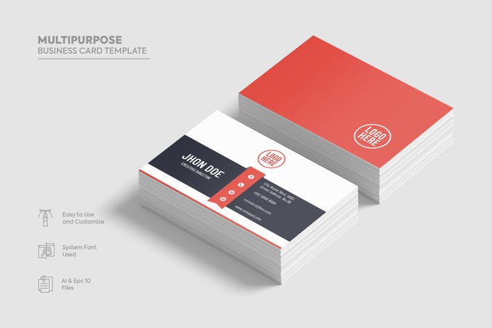 Thumbnail for Multipurpose Business Card template.06