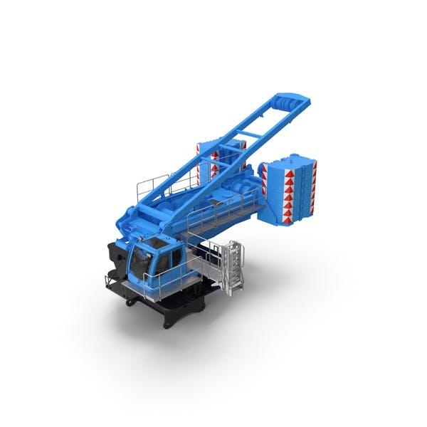 Кран LR 1600 База 02 Синий