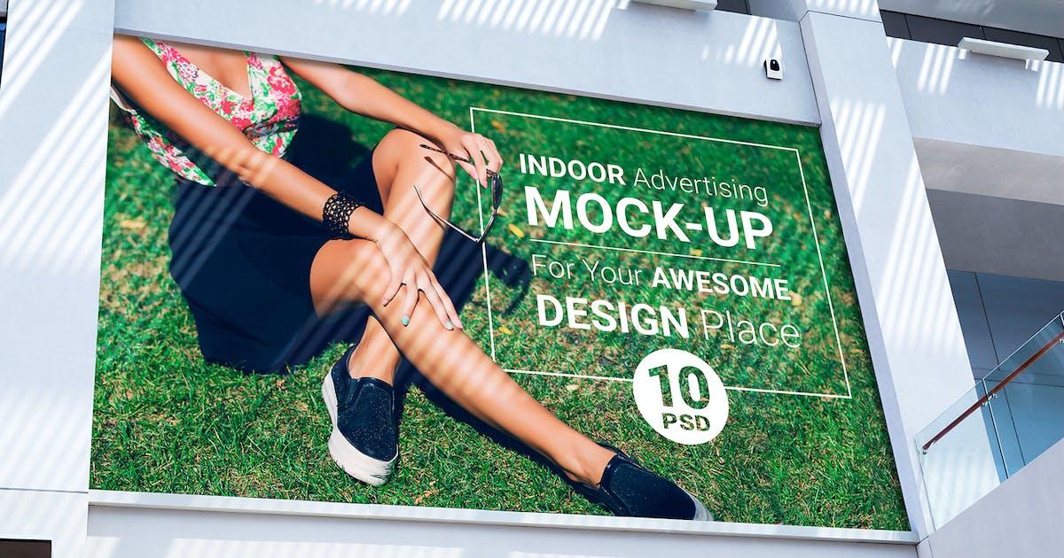 Download Indoor Advertising Mock-Up by Temaphoto