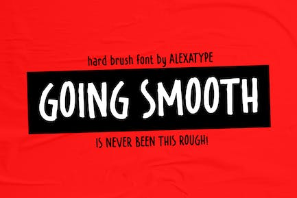 GOING SMOOTH - hard brush with attitude