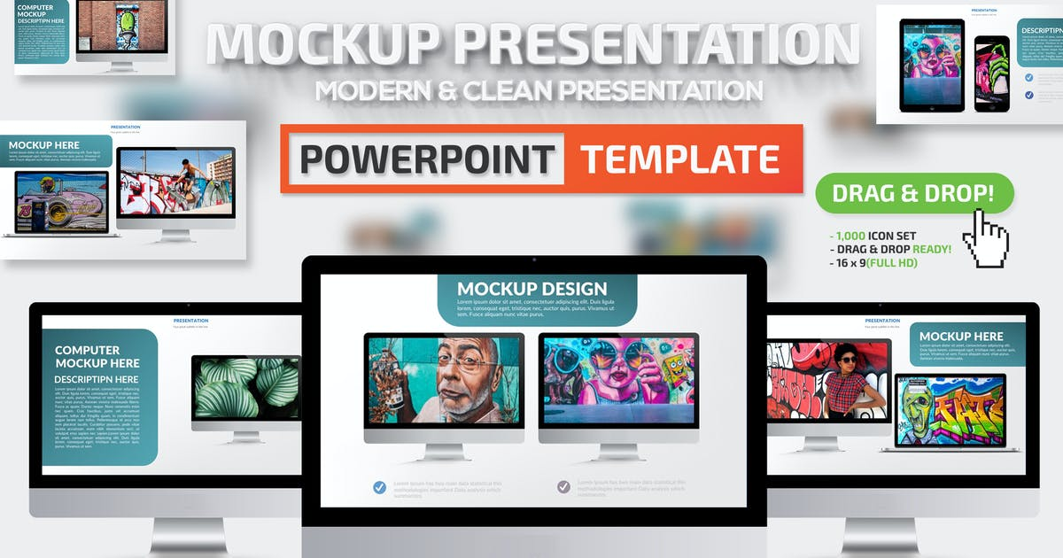 Download Mockup Powerpoint Presentation by mamanamsai