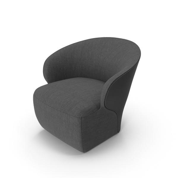 Dark Arm Chair