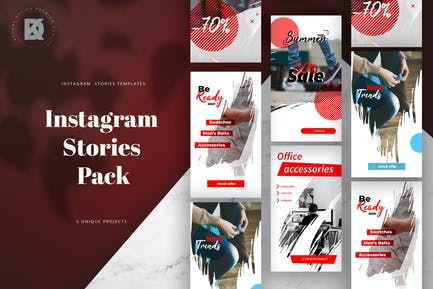 Pack Histoires Instagram