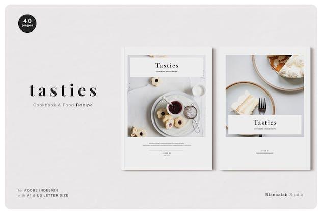 TASTIES Cookbook & Food Recipe