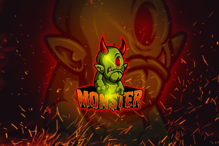 Thumbnail for Monsters - Esports & Mascot Logo YR