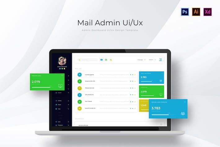 Mail-Admin-Seite