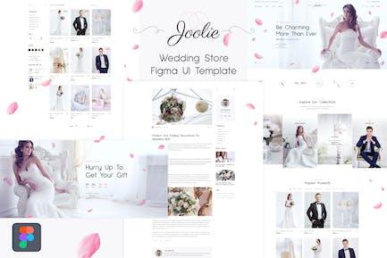 Joolie - Wedding Store Figma UI Template