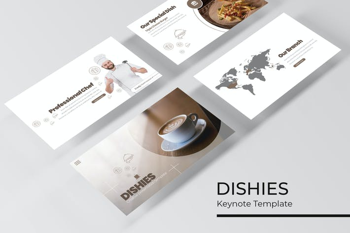 Cover Image For Dishies - Keynote Template