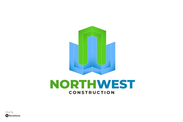 Thumbnail for Northwest Construction - Logo Template RB