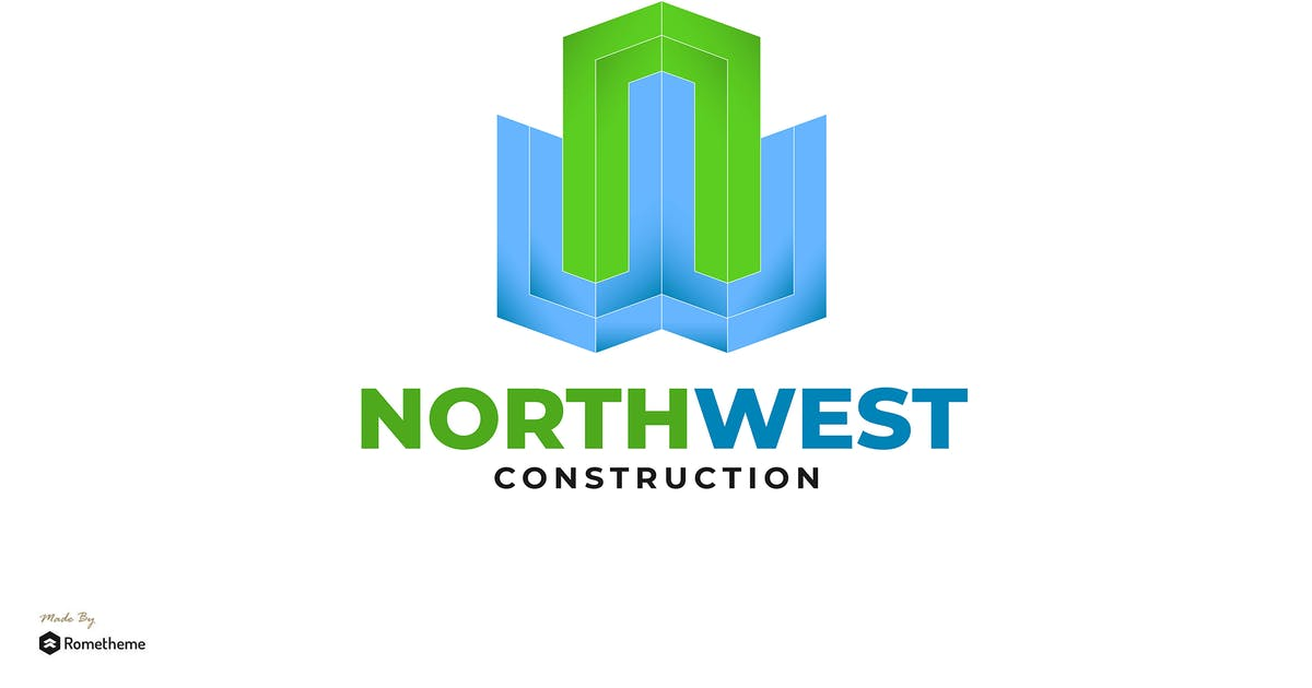 Download Northwest Construction - Logo Template RB by Rometheme