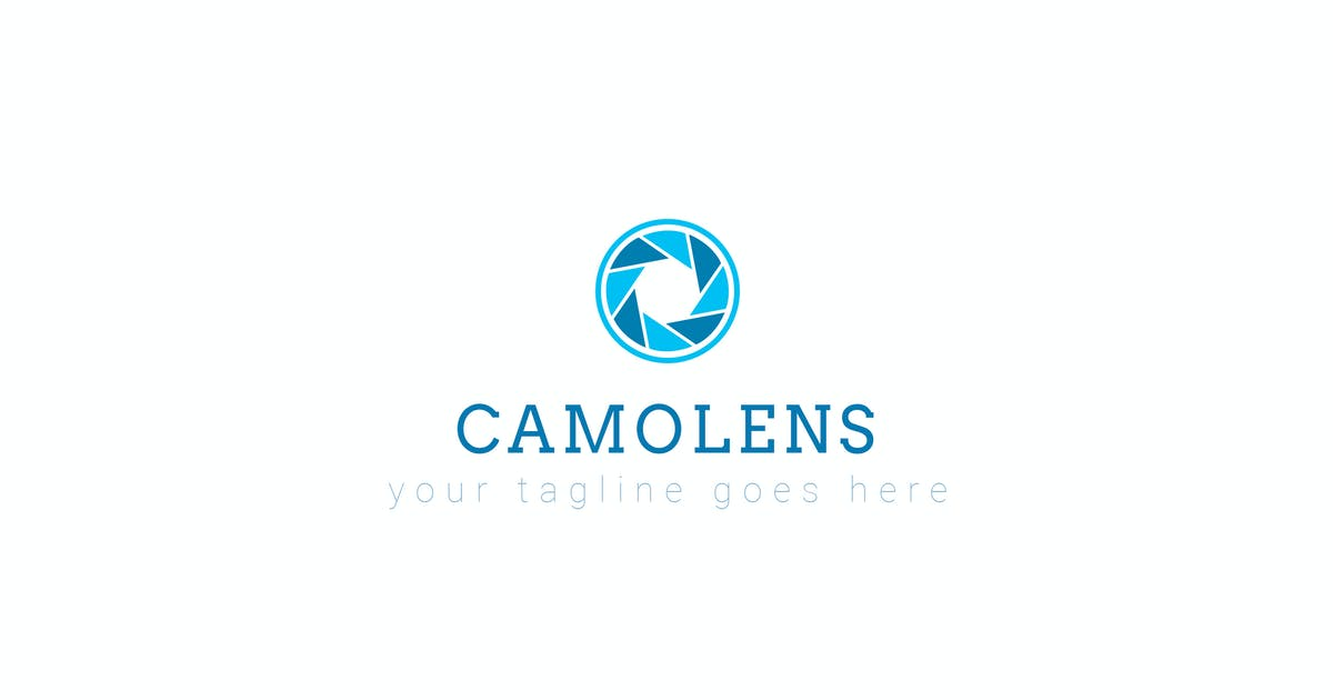 Download Camolens - Photography logo Template by ThemeWisdom