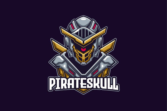 Thumbnail for Knight E-sports Logo Template
