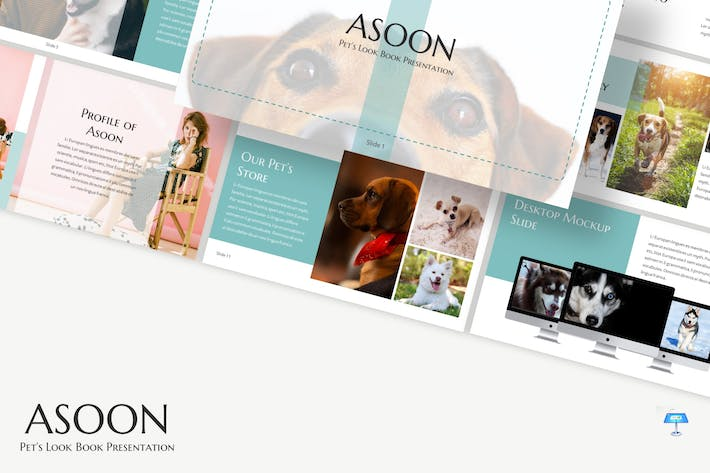 Cover Image For Asoon - Keynote Template