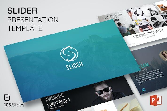 Thumbnail for Slider - Шаблон презентации вдохновения