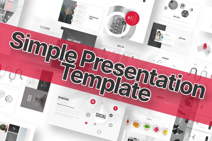 Thumbnail for Simple Minimalist Powerpoint Template