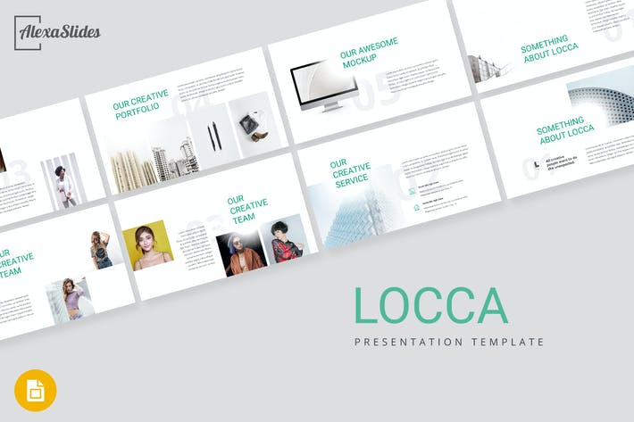 Thumbnail for Locca - Creative Google Slides Template
