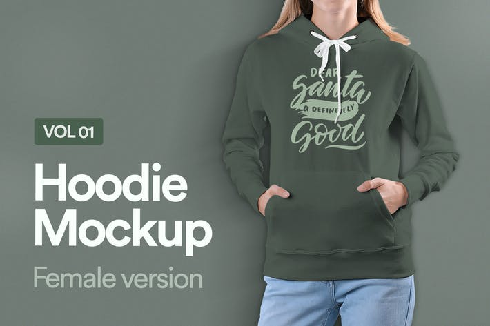 Thumbnail for Hoodie Mockup Vol 01
