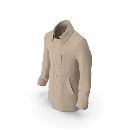 Herren-Mantel Beige
