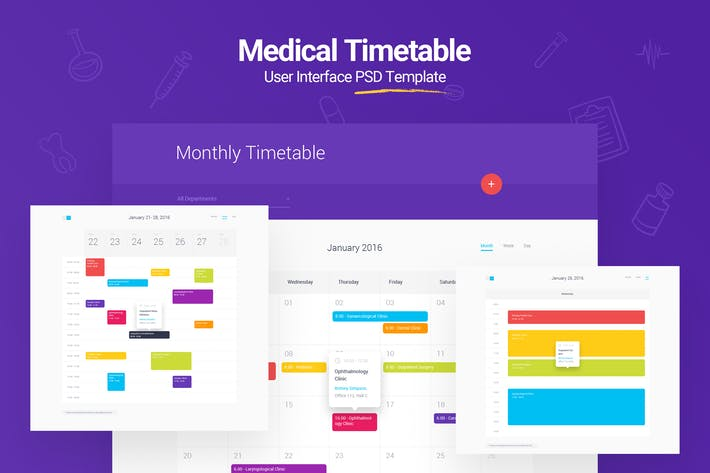 Thumbnail for Medical Timetable
