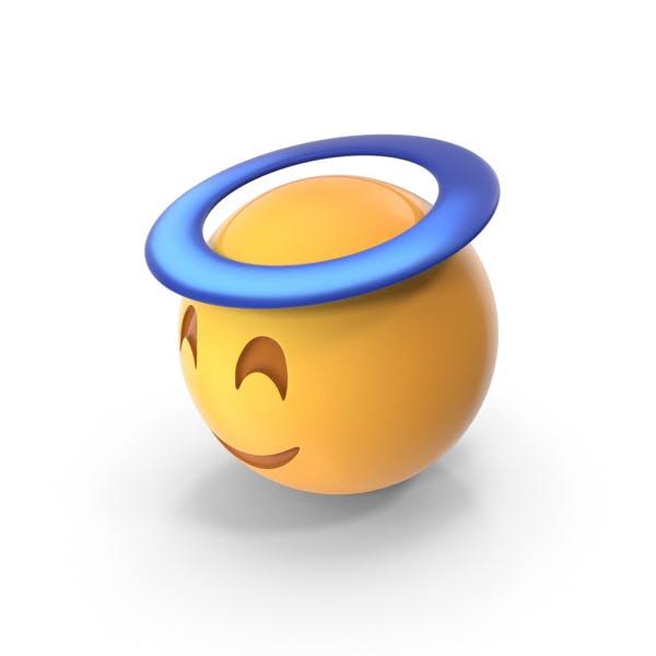 Thumbnail for Angel Halo Emoji