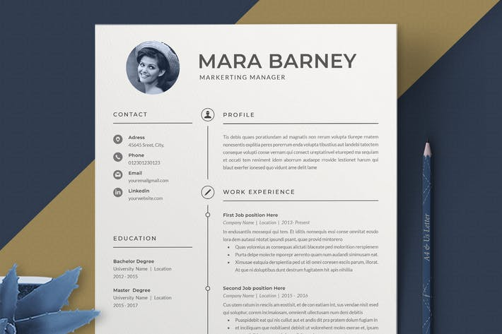 Thumbnail for Cv / Resume Template