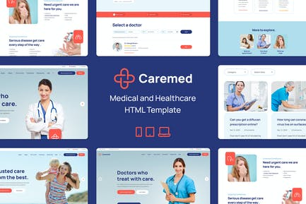 Caremed – Medical & Healthcare HTML Template