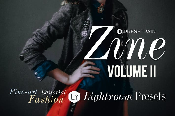Thumbnail for Zine Fashion Lightroom Presets - Volume II