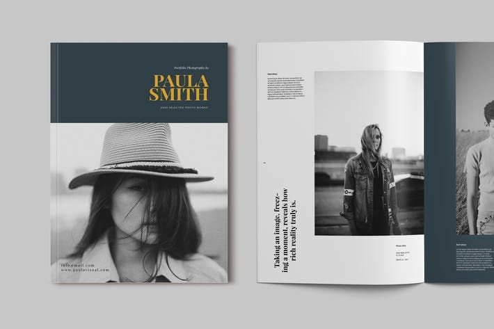 Thumbnail for Photography Portfolio Brochure Template