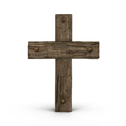 Holzkreuz verwittert