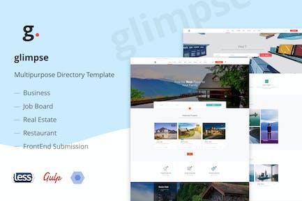 Glimpse Multipurpose Directory Template