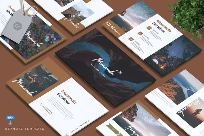Thumbnail for MUNANDA - Creative Keynote Template