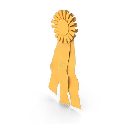 Third Place Prize Ribbon
