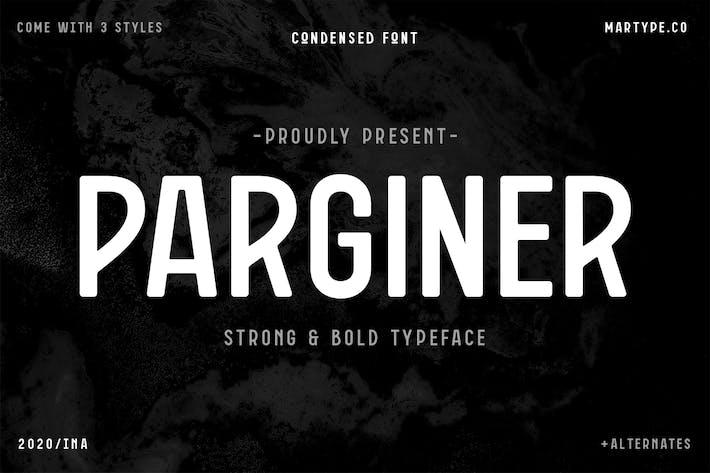 Thumbnail for Parginer Condensé Sans