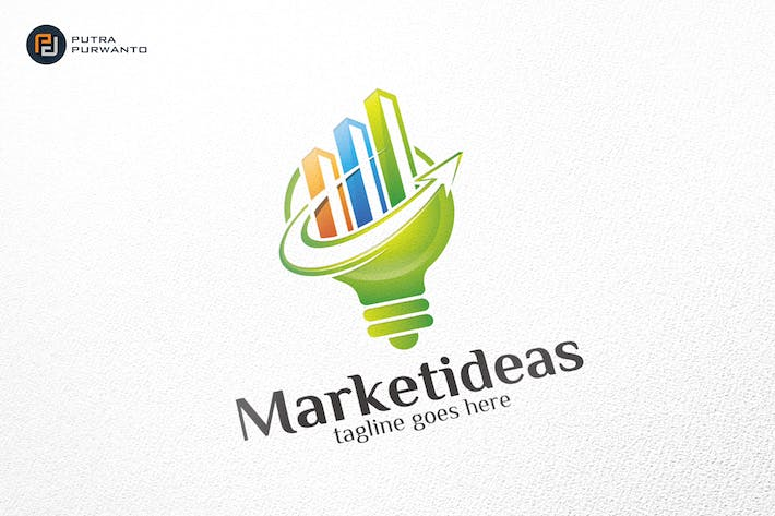 Thumbnail for Market Ideas - Logo Template
