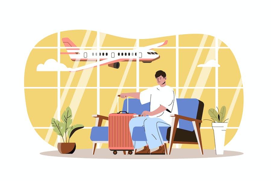 Go To Travel Web Concept