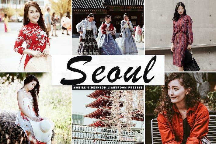 Thumbnail for Seoul Mobile & Desktop Lightroom Presets