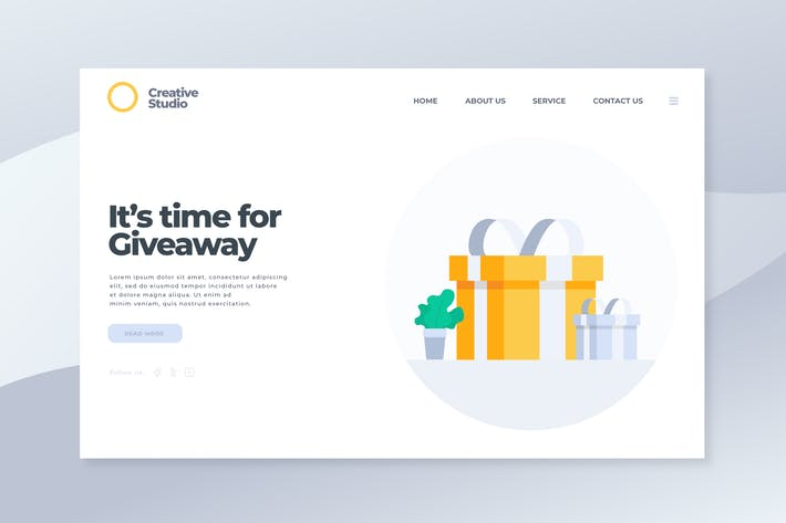 Cover Image For Giveaway - Landing Page