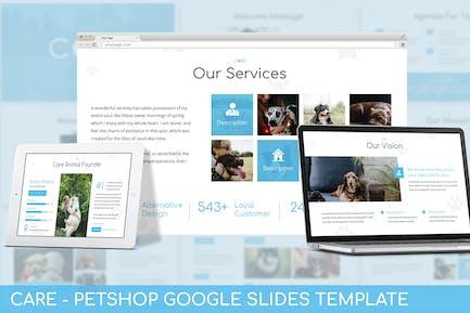 Care - PetShop Google Slides Template