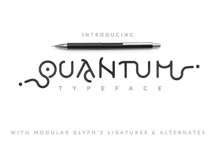 Thumbnail for Quantum Typeface
