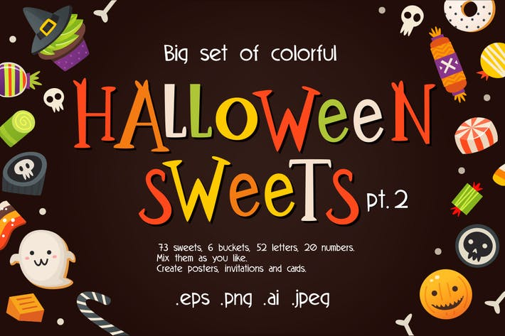Thumbnail for Halloween Vector Sweets