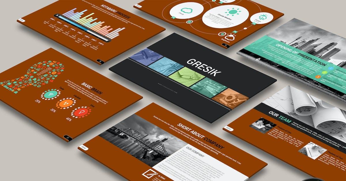Download GRESIK Powerpoint by Artmonk