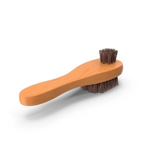 Double Sided Shoe Brush
