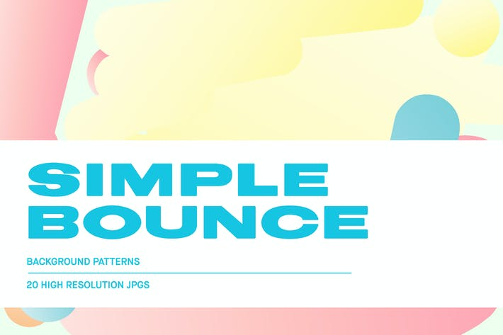 Thumbnail for Simple Bounce - Pastel Backgrounds