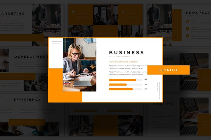 Corporation - Keynote Template