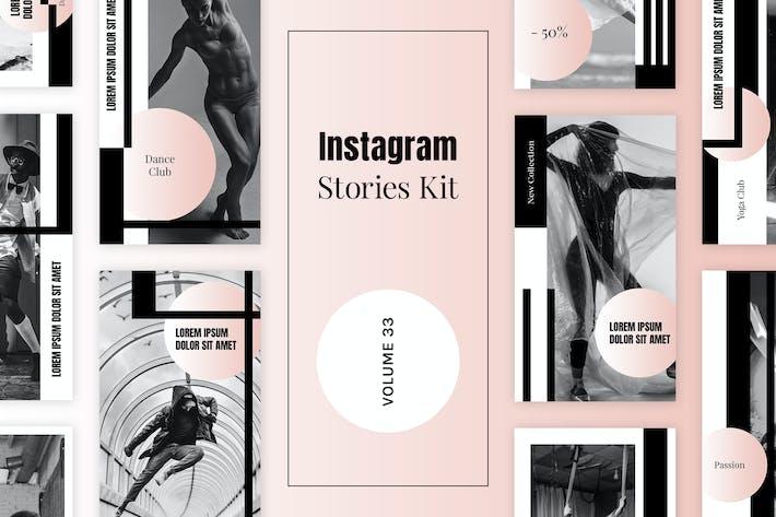 Thumbnail for Instagram Stories Kit (Vol.33)